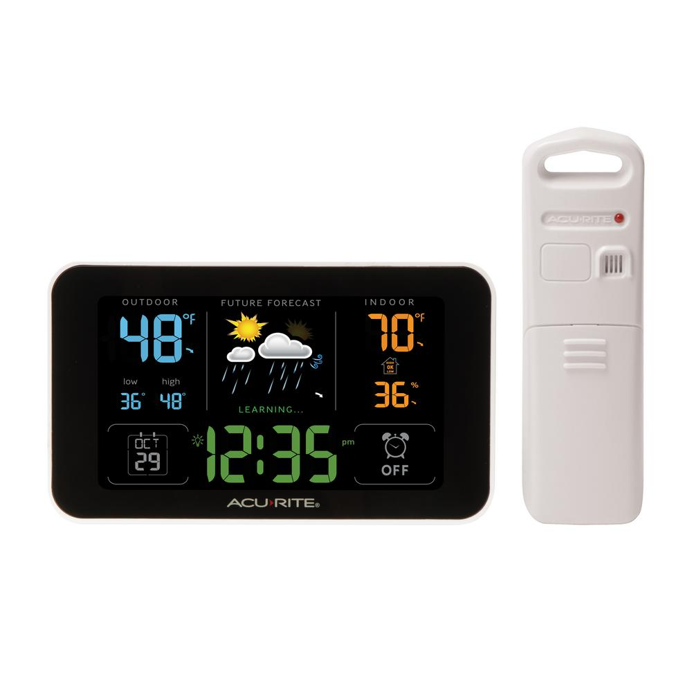 Acurite Digital Weather Forecaster with Alarm Clock