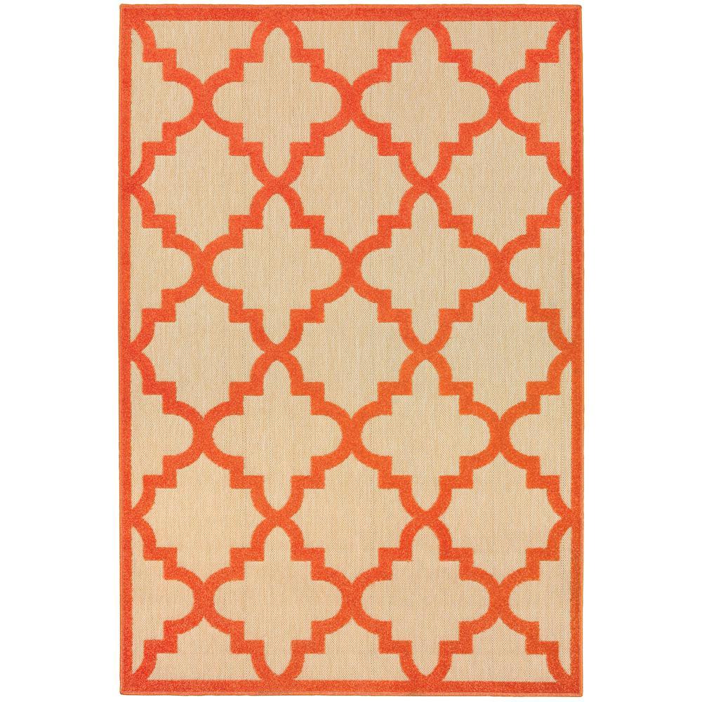Home decorators collection marina orange 9 ft 10 in x 12 for Home decorators indoor outdoor rugs
