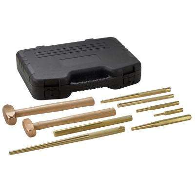 Brass Hammer Set (9-Piece)