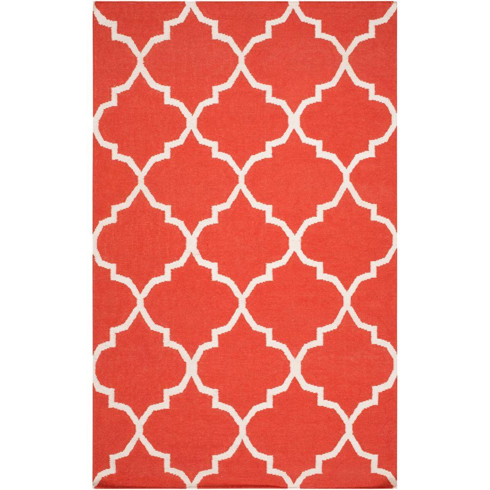 York Mallory Coral 3 ft. x 5 ft. Indoor Area Rug