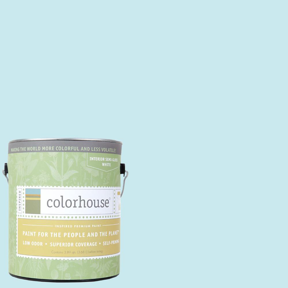 1 gal. Dream .01 Semi-Gloss Interior Paint