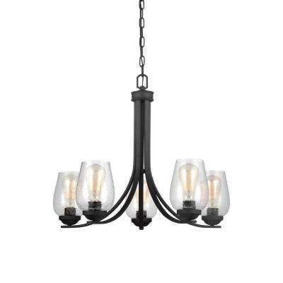 Morill 5-Light Blacksmith Chandelier