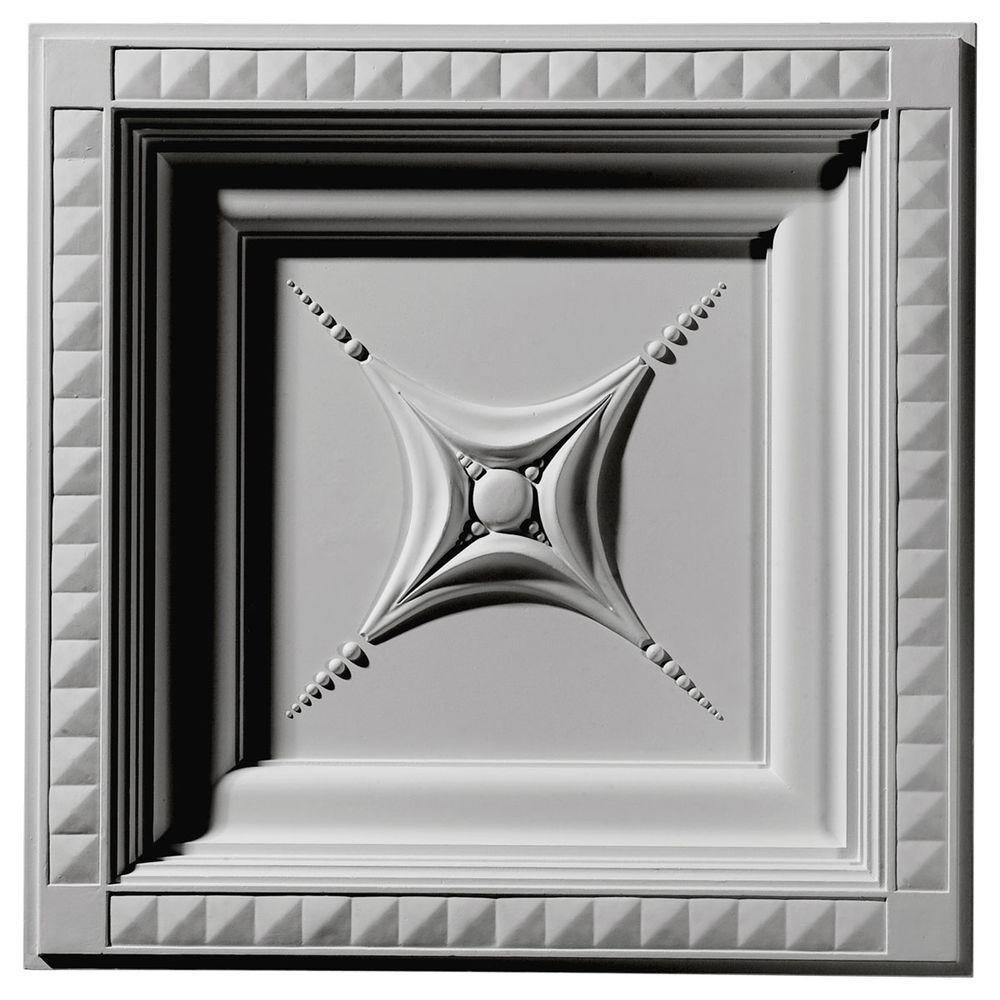 2 ft. x 2 ft. Star Glue-up Ceiling Tile