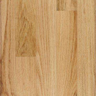 Red Oak Natural 3/4 in. Thick x 4 in. Wide x Random Length Solid Real Hardwood Flooring (21 sq. ft. / case)