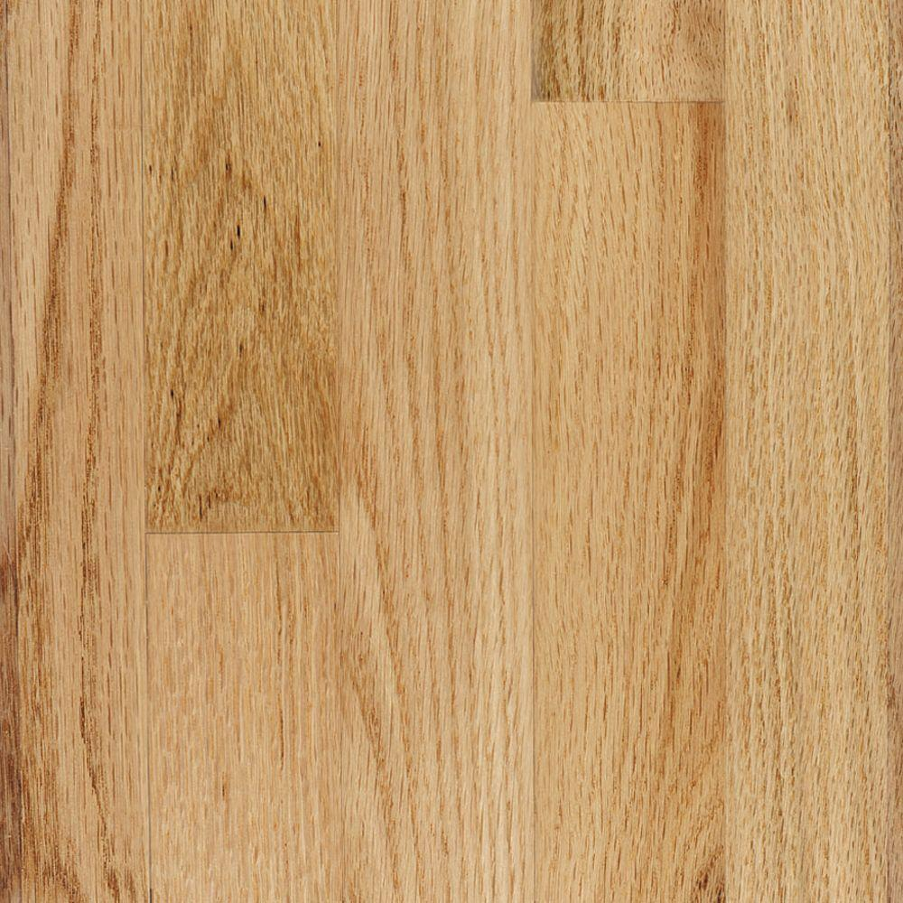 Millstead Red Oak Natural 3/4 in. Thick x 2-1/4 in. Wide x Random Length Solid Real Hardwood Flooring (20 sq. ft. / case)