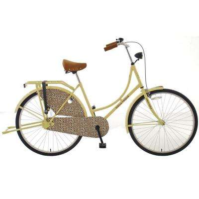 City Leopard Dutch Cruiser Bicycle with Chain Guard and Dress Guard, 28 in. Wheels, 19 in. Frame, Women's Bi