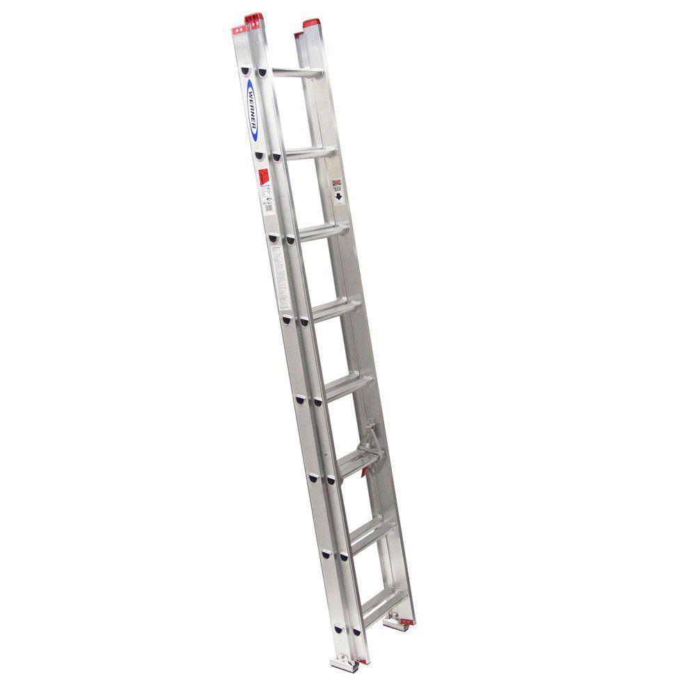 16 ft. Aluminum Extension Ladder with 200 lb. Load Capacity Type