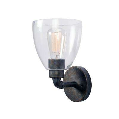 Steam Fitter 1-Light Vintage Metal Sconce