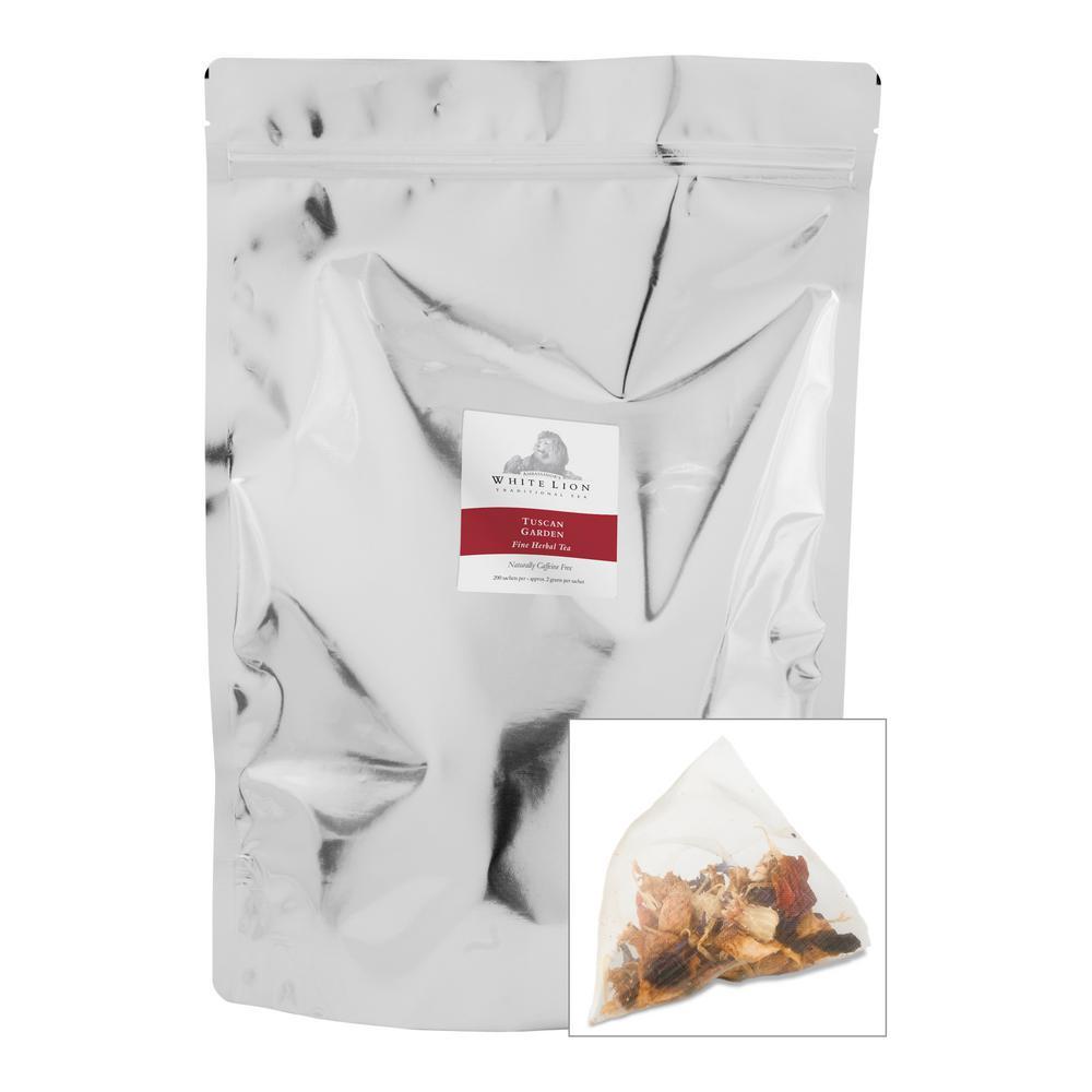 Tea Tuscan Garden Bulk Sachets Food Service Tea Bag (200 per Pack)