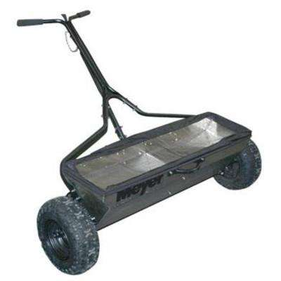 100 lb. Capacity Walk Behind Stainless Steel Drop Spreader