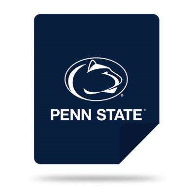 COL 361 Penn State Multi Color Acrylic Sliver Knit Throw