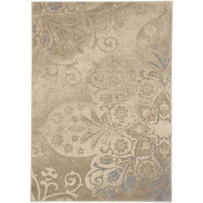 Kevin O ft. Brien Cavalcade Venetian Mocha 5 ft. 3 in. x 7 ft. 6 in. Area Rug