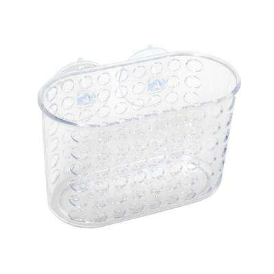 Large Suction Bucket in Frosted Clear