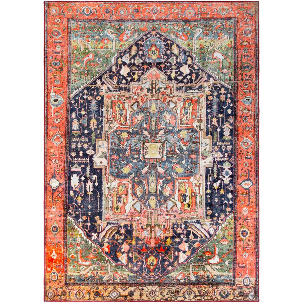 Artistic Weavers Deighton Coral 5 ft. x 7 ft. Area Rug