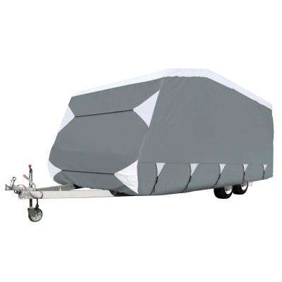 OverDrive PolyPRO 3 240 in. L x 100 in. W x 86.6 in. H Deluxe Caravan Cover