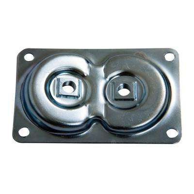 Silver Dual Top Plate Hardware