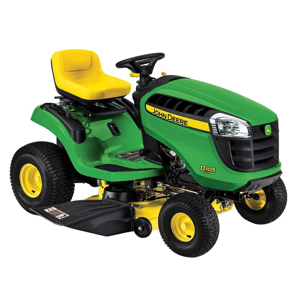 John Deere D105 42 in. 17.5 HP Gas Automatic Lawn Tractor