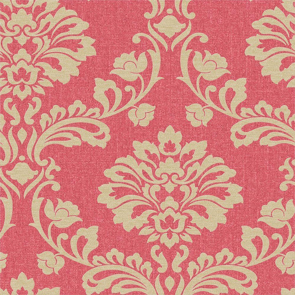 Graham Brown Red Aurora Wallpaper