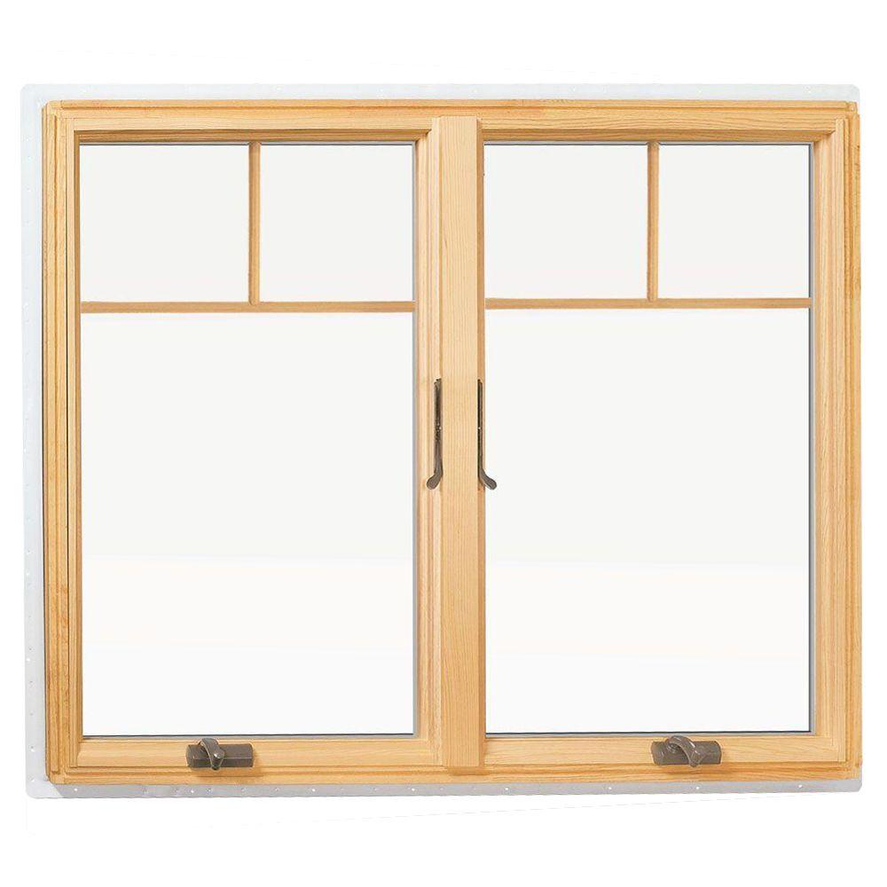 Andersen 48 In X 48 In 400 Series Casement Wood Window