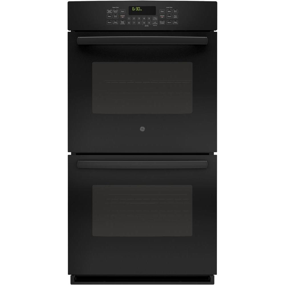 Ge Profile 27 In Double Electric Smart Wall Oven Self Cleaning With Steam Plus