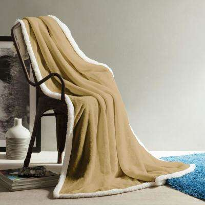 Andover Sand Sherpa Throw