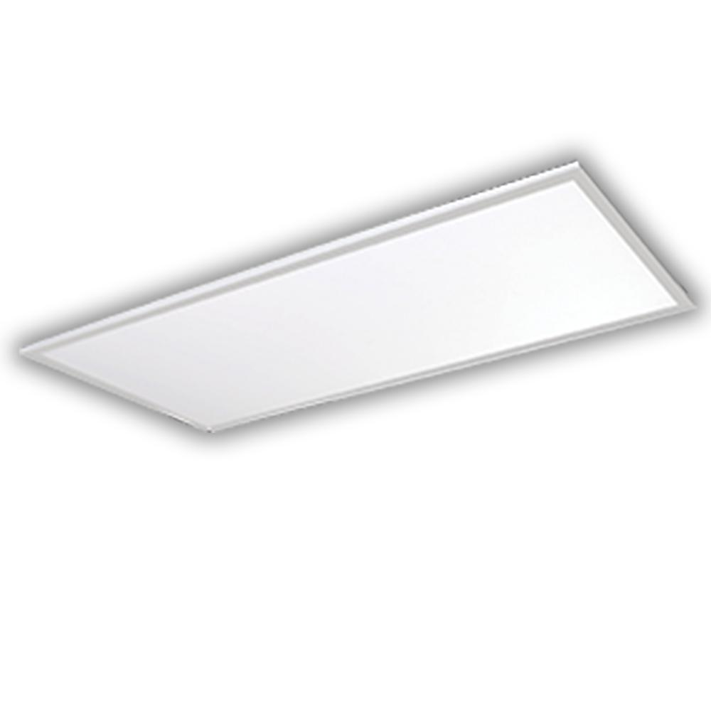 128- Watt Equivalent White 2 ft. x 4 ft. Edge-Lit Flat