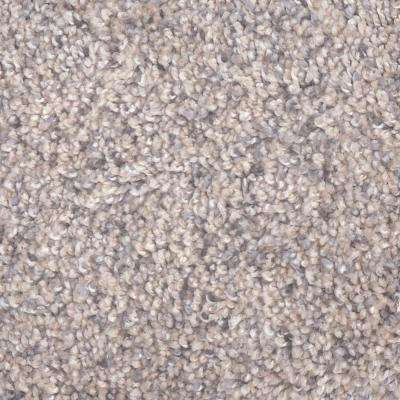 Carpet Sample - Archipelago II - Color Mixed Sand Twist 8 in. x 8 in.