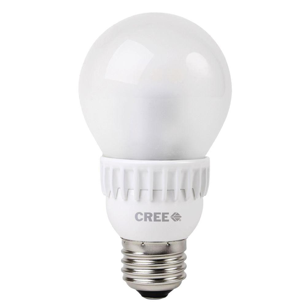 Cree 40W Equivalent Daylight (5000K) A19 Dimmable LED Lig...