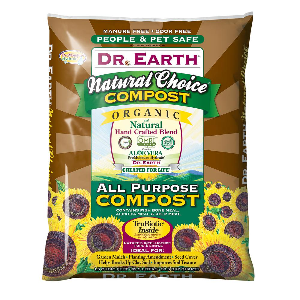 DR. EARTH 1.5 cu. ft. Natural Choice All Purpose Compost