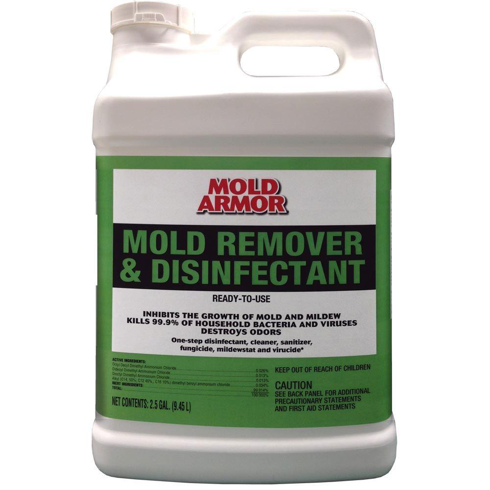 Mold Armor 2 5 Gal Mold Remover And Disinfectant Fg551