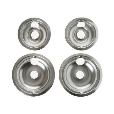 Drip Pans for Electric Ranges (4-Pack)