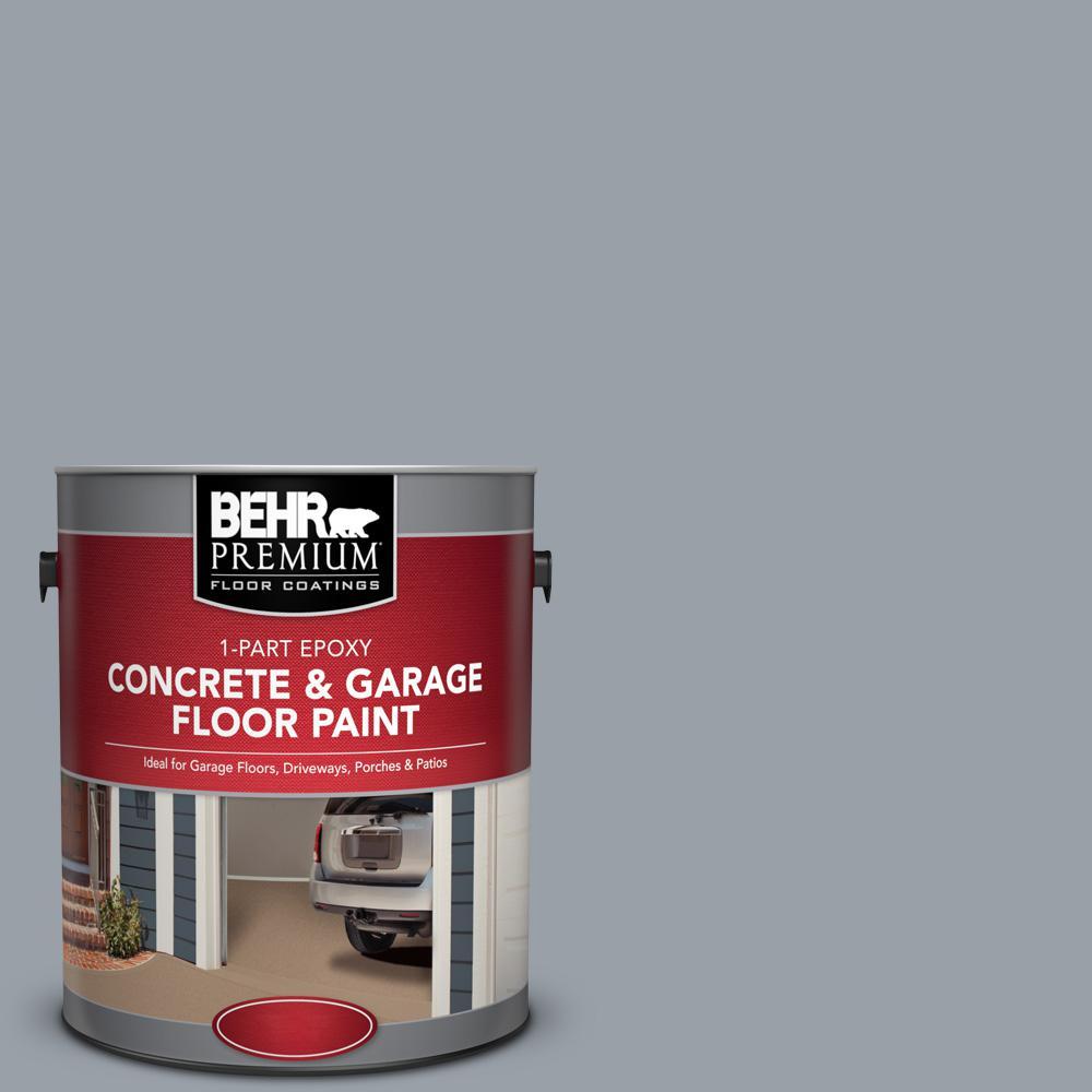 1 gal. #PFC-57 Silver Spur 1-Part Epoxy Concrete and Garage Floor Paint