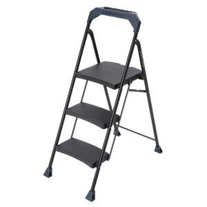 3-Step Steel Step Stool with 250 lb. Load Capacity Type I Duty Rating  sc 1 st  The Home Depot & Gorilla Ladders 3-Step Lightweight Steel Step Stool Ladder with ... islam-shia.org