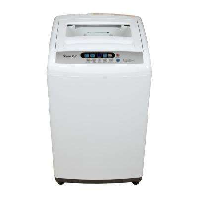 2.1 cu. ft. Compact Top Load Washer in White with Stainless Steel Tub