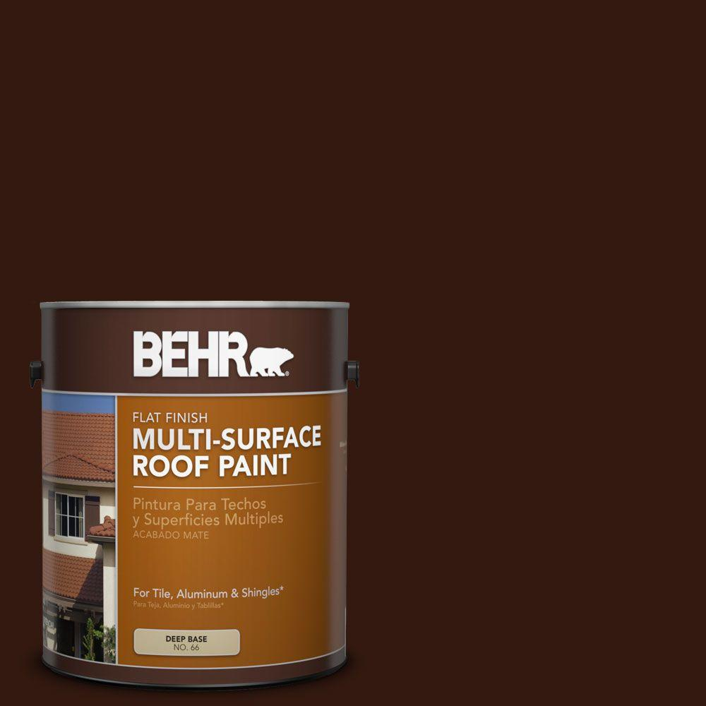 Rp 20 Bark Brown Flat Multi Surface Exterior Roof Paint