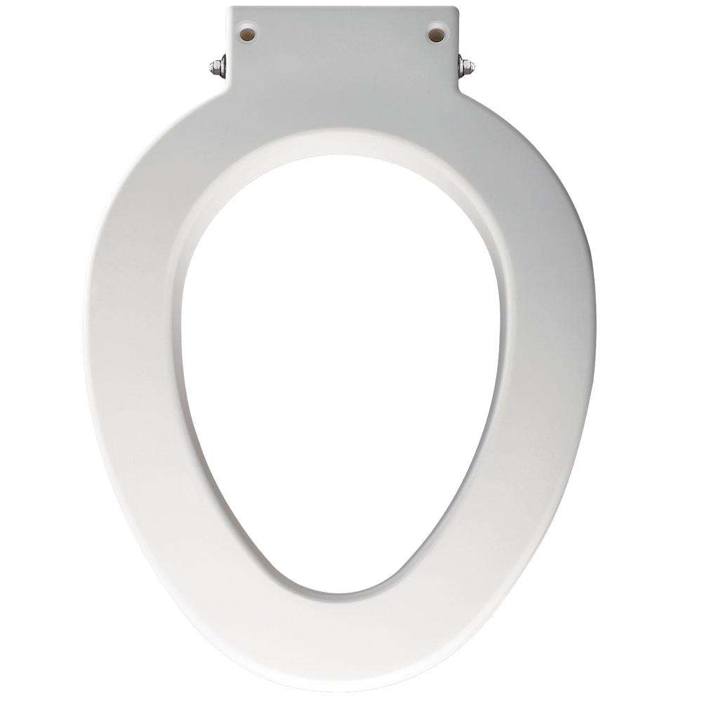 Fabulous Bemis Medic Aid Elongated Closed Front Commercial Toilet Seat Spacer With 4 In Lifts In White Machost Co Dining Chair Design Ideas Machostcouk