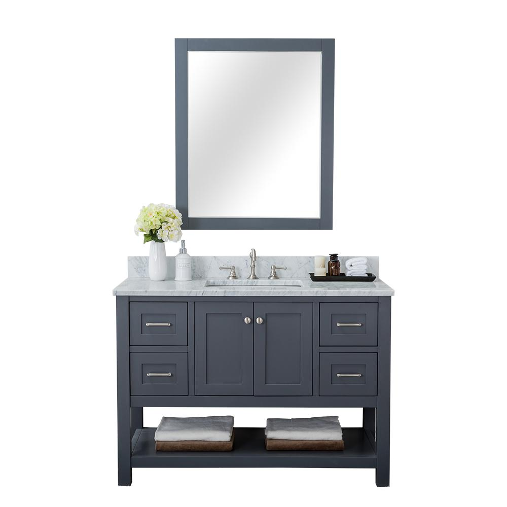 alya bath wilmington 48 in w x 34 2 in h x 22 in d bath vanity in