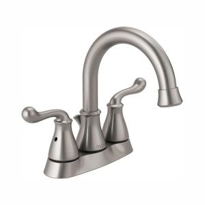 HomeDepot.com deals on Delta Southlake 4-in Centerset 2-Handle Bathroom Faucet