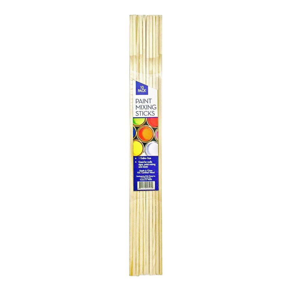 1 Gal. Paint Mixing Craft Sticks (10-Pack)