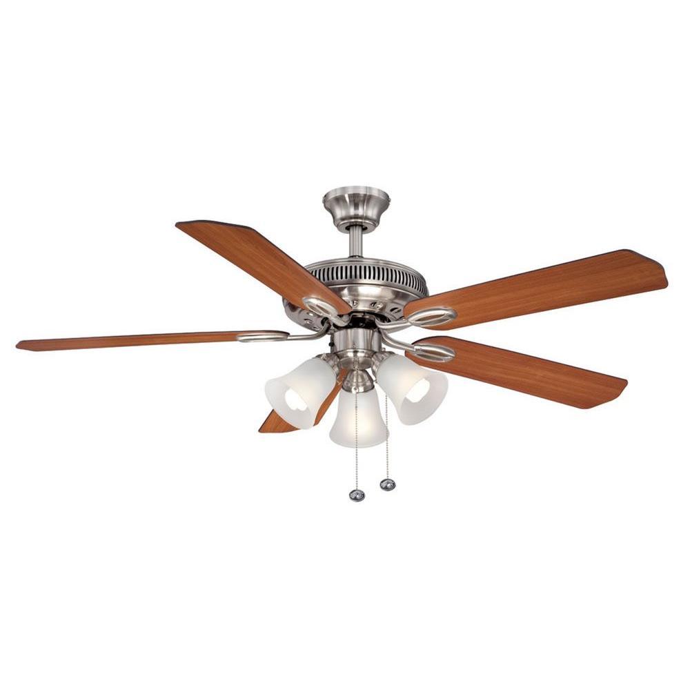 Hunter Channing 44 In. Indoor Brushed Nickel Ceiling Fan