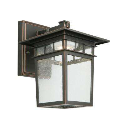 Dayton 12-Watt Integrated LED Oil Rubbed Bronze Outdoor Wall Mount Sconce