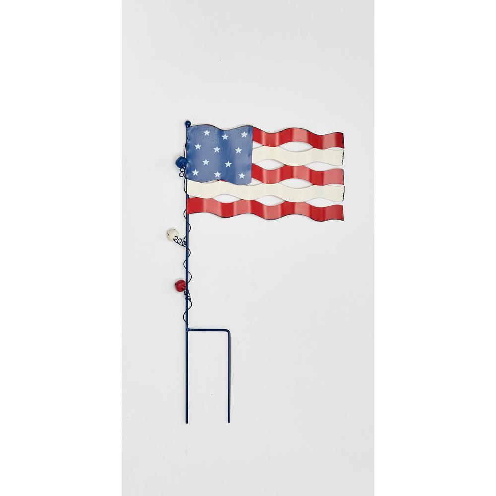20 in. Americana Flag Stake (2-Set)
