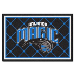 Orlando Magic 5 Ft. X 8 Ft. Area Rug