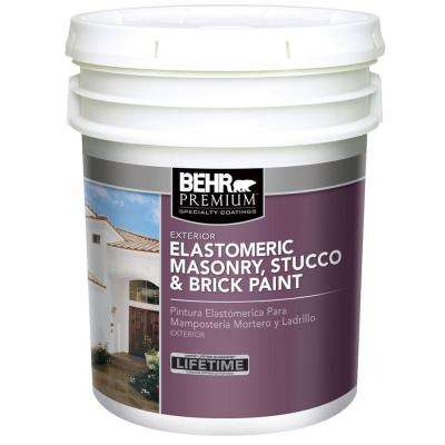 5 gal. Elastomeric Masonry, Stucco and Brick Paint