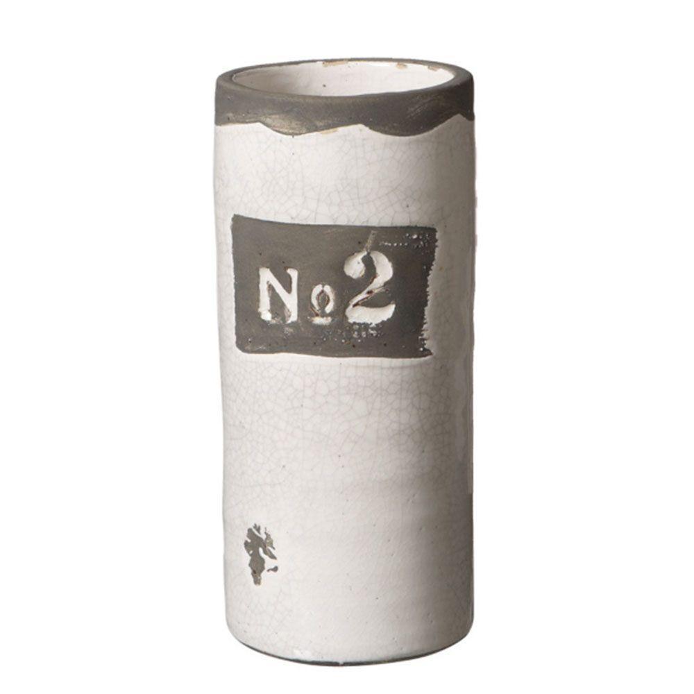 Filament Design Sundry 11.5 in. Ceramic Decorative Vase in White-DISCONTINUED