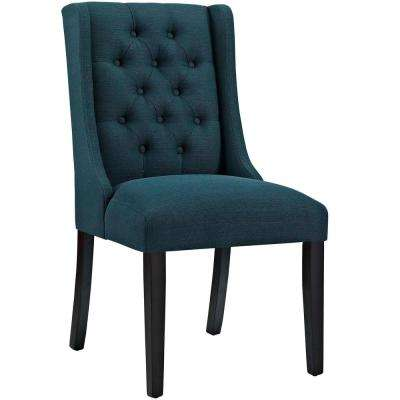 Baronet Azure Fabric Dining Chair
