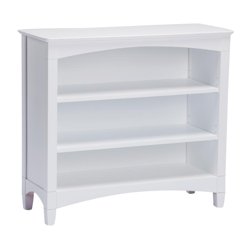 Internet 304497554 Es Low White Bookcase