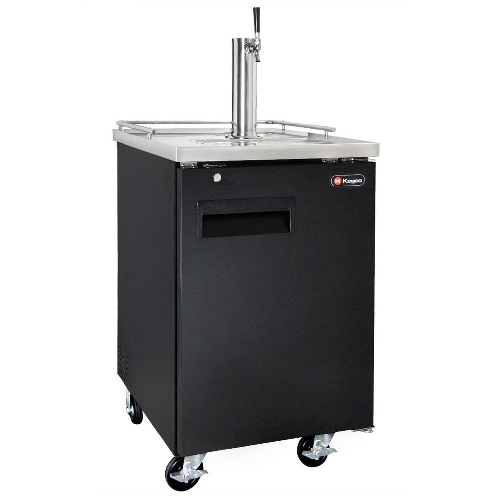 Commercial Full Size Beer Keg Dispenser with Single Faucet Tower