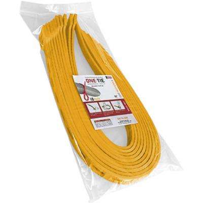 32 in. Cable Ties, Yellow (10-Pack)