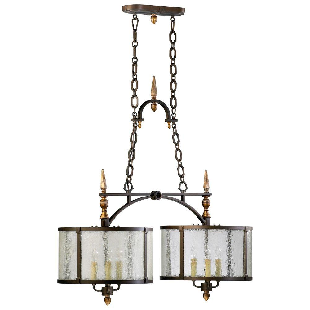 Filament Design Prospect 6-Light Oiled Bronze Chandelier